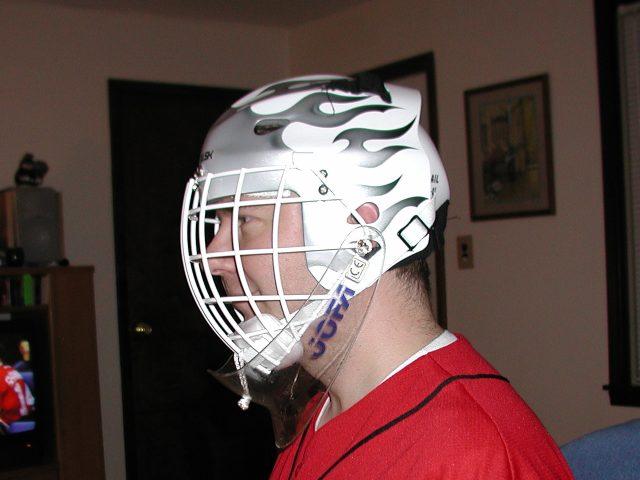 Cat Eye Goalie Mask Vs Regular